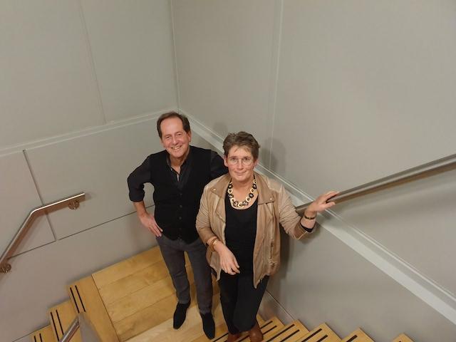 Raymond Koerhuis  en Maud van Braam