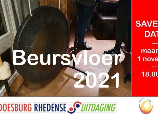 "SAVE THE DATE! 1 November 2021 – De ""Beursvloer"""